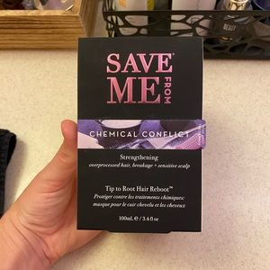 Save Me From Chemical Conflict Hair Mask *NIB*